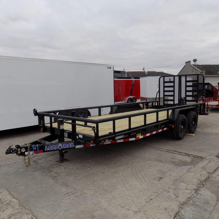 "New Load Trail CS14 83"" x 18' Open Car Hauler /Equipment Trailer for Sale"