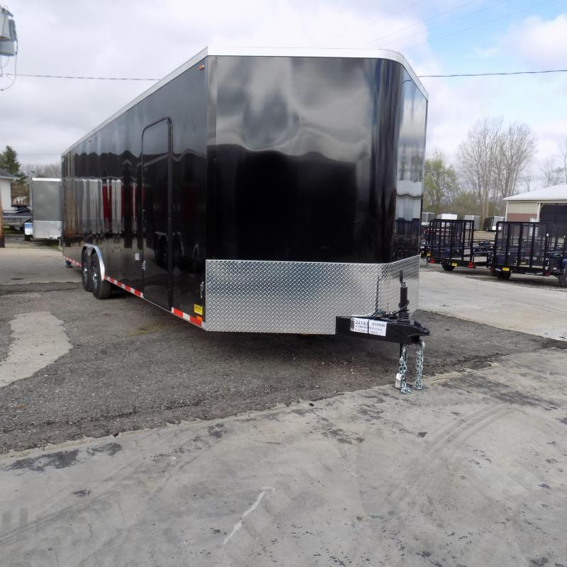 New Legend Cyclone 8.5' x 30' Enclosed Car Hauler With 7K Axles