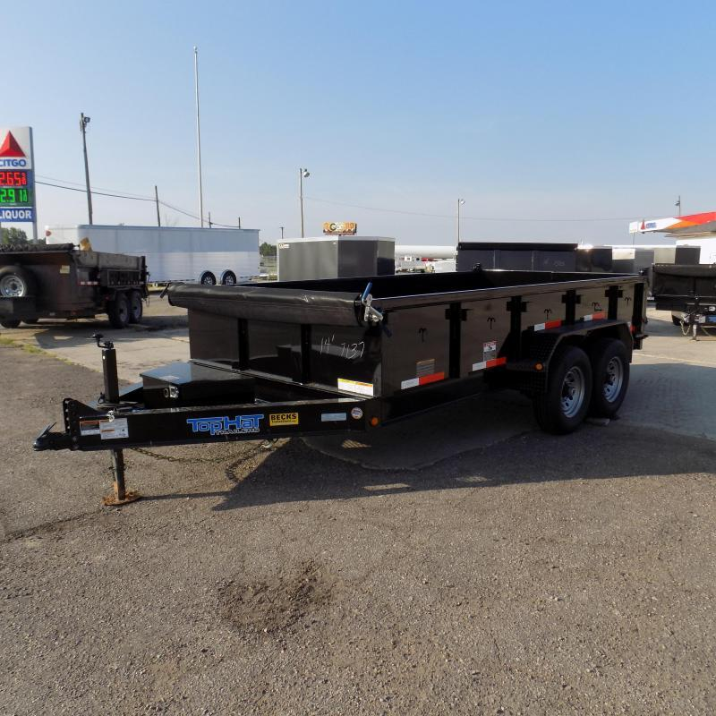 """New Top Hat Trailers 83"""" x 14' Low Pro Dump Trailer For Sale in Ashburn, VA"""
