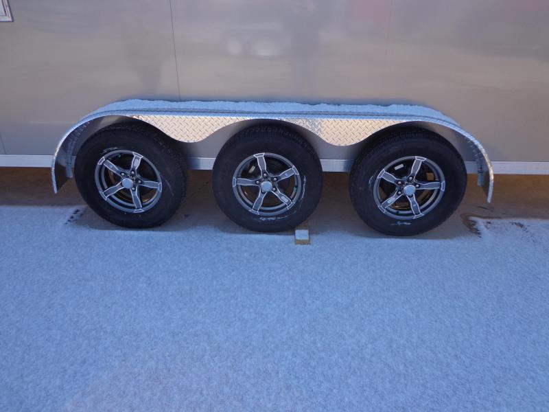 New Legend Trackmaster 7' x 31' Triple Axle Snowmobile Trailer For Sale