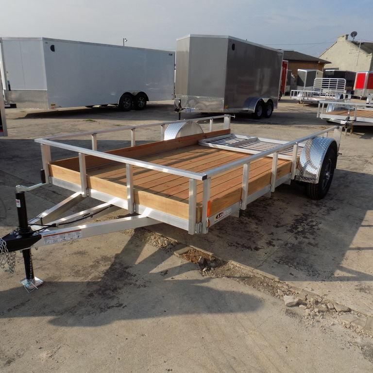 New Legend Trailers Aluminum Low Side 6X12ALLSSA30