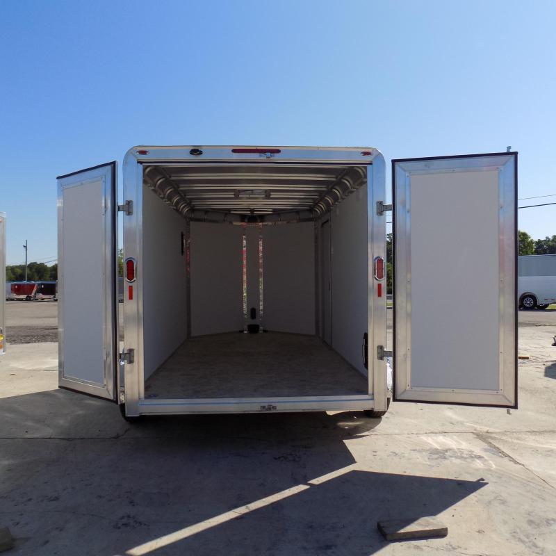 New Legend Deluxe V Nose 7' X 15' Aluminum Enclosed Cargo Trailer For Sale