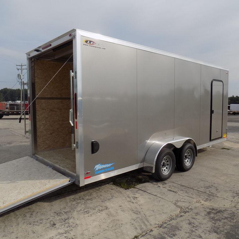 New Legend Thunder 7' x 20' Aluminum Enclosed Cargo Trailer For Sale