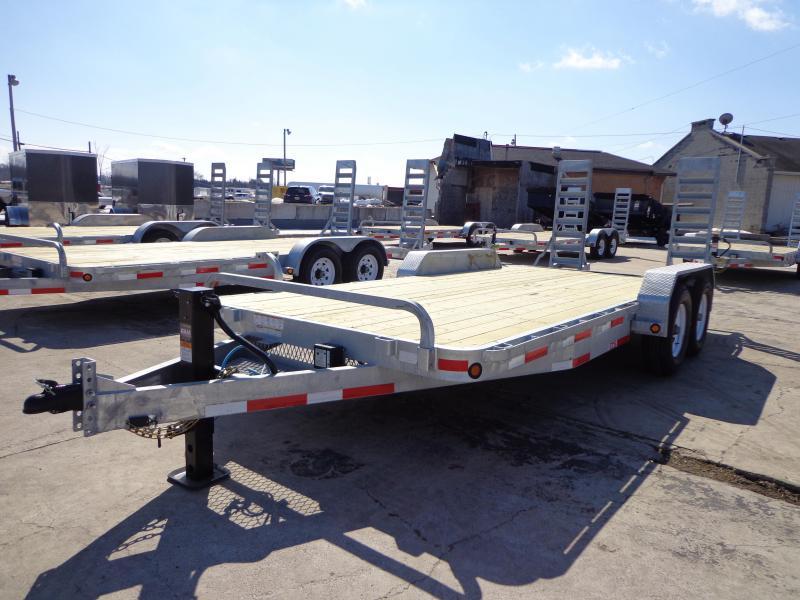 "New Galvanized 83"" x 18' Equipment Trailer - Torsion Axles in Ashburn, VA"