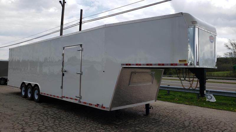 New United Trailers 8.5' x 40' Gooseneck Car / Racing Trailer - Triple Axle in Ashburn, VA
