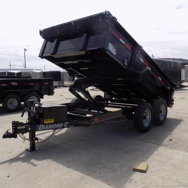 "New Diamond C Trailers 77"" x 12' Dump Trailer for Sale"
