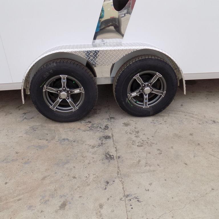 New Legend Explorer 7' x 27' Aluminum Snowmobile Trailer For Sale