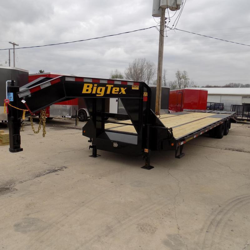 "Big Tex 102"" x 25' + 5' Gooseneck Trailer for Sale"