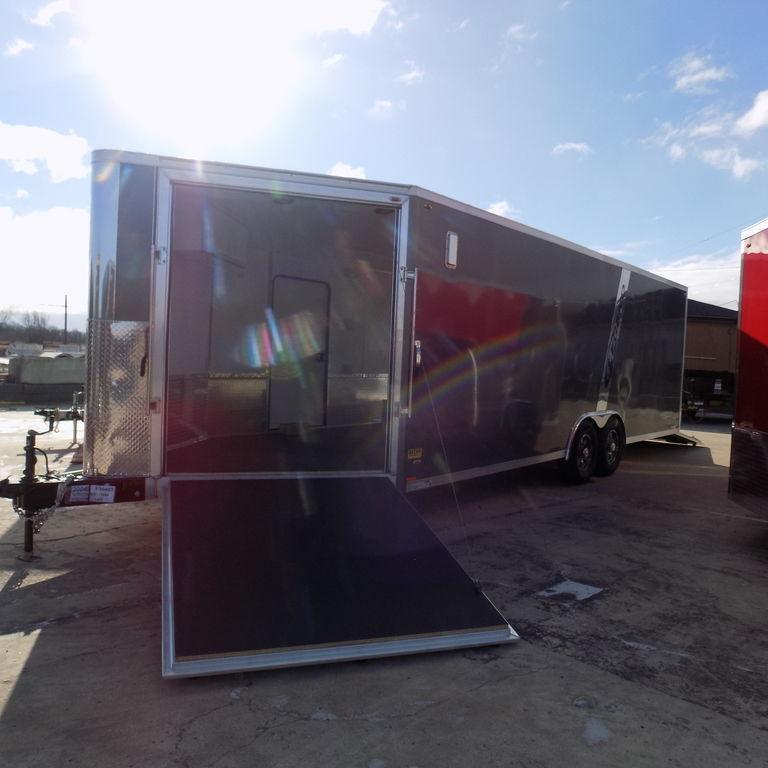 New Legend Trailmaster V-Nose 8.5' x 28' Aluminum Enclosed Car/All Sports Trailer