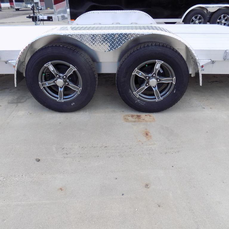 New Legend 7' x 20' Aluminum Open Car Hauler - Best Built!