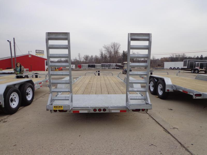 New Galvanized 83' x 20' Equipment Trailer For Sale