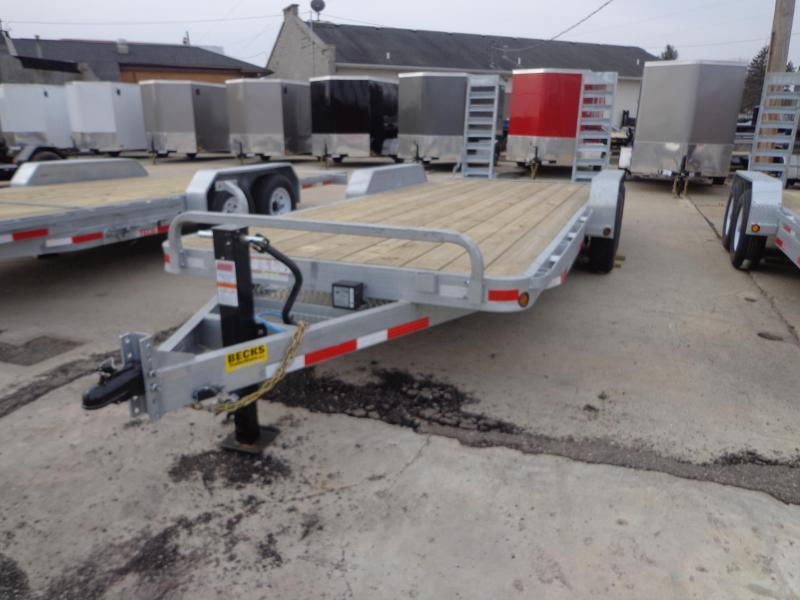 New Galvanized 83' x 20' Equipment Trailer For Sale
