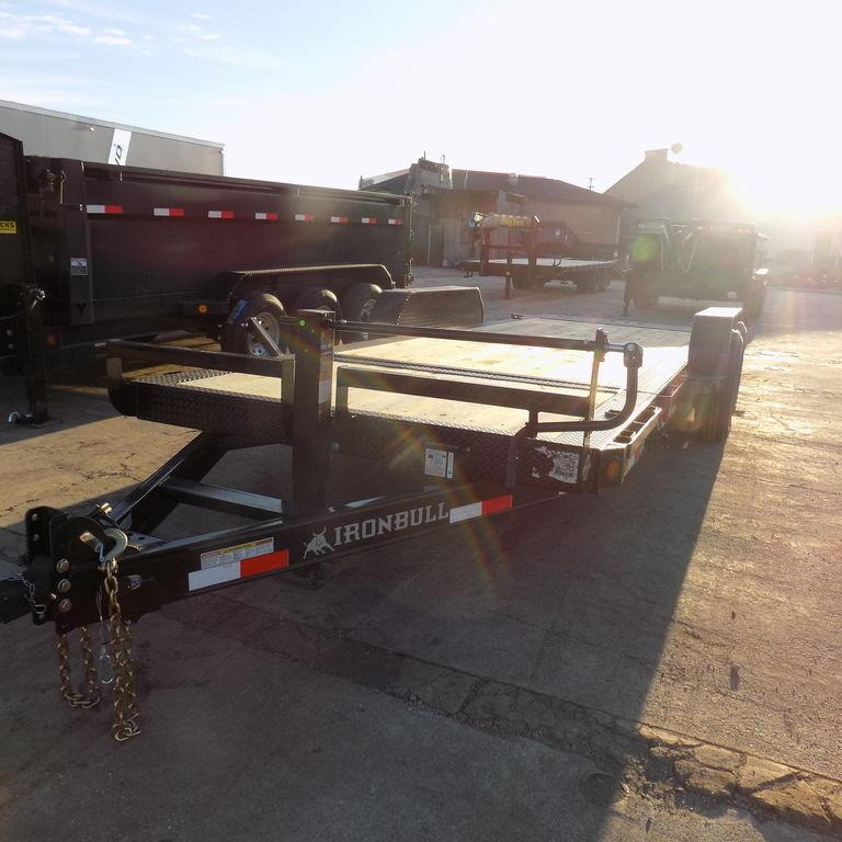New Iron Bull TLB16 20' Tilt Deck Trailer with 8K Axles Upgrade in Ashburn, VA