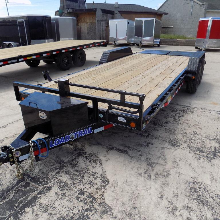 """New Load Trailer CH14 83"""" x 20' Open Car / Eauipment Trailer - 14K Weight Rating"""