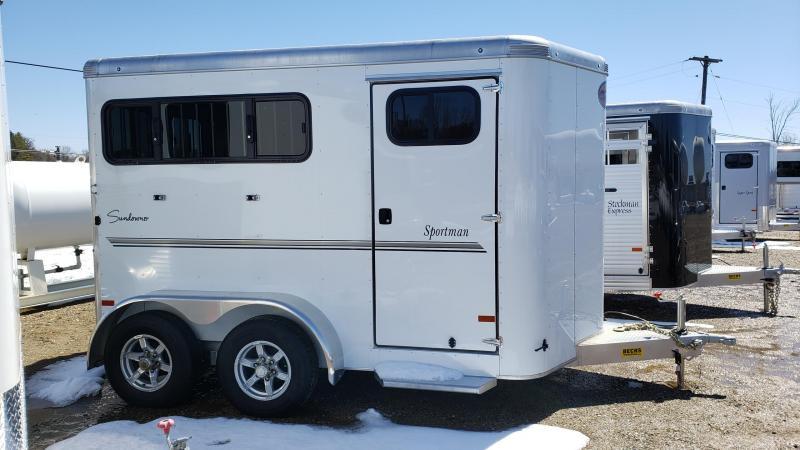 New Sundowner Trailers Sportman Bumper Pull 2 Horse