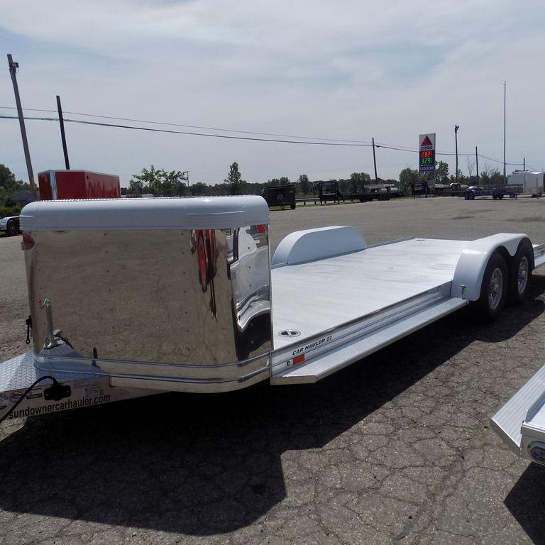 New Sundowner Trailers ULTRA 22' Aluminum Open Car Hauler