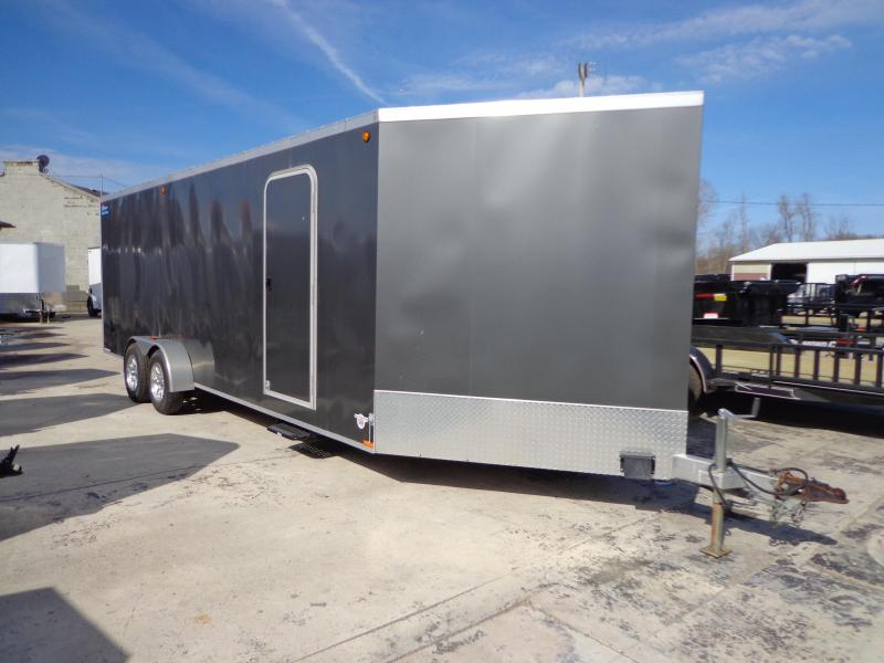 Used Legend Thunder 7' x 27' Aluminum Snowmobile Trailer