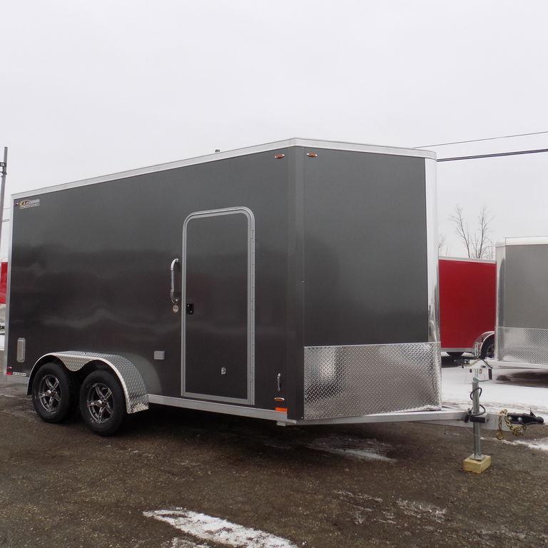 New Legend FTV 7' X 17' Aluminum Enclosed Cargo Trailer For Sale