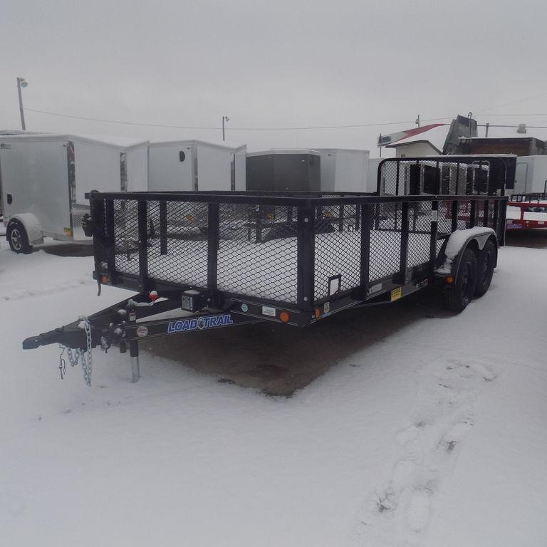 "New Load Trail 83"" x 18' Utility Landscape Trailer - On Sale"