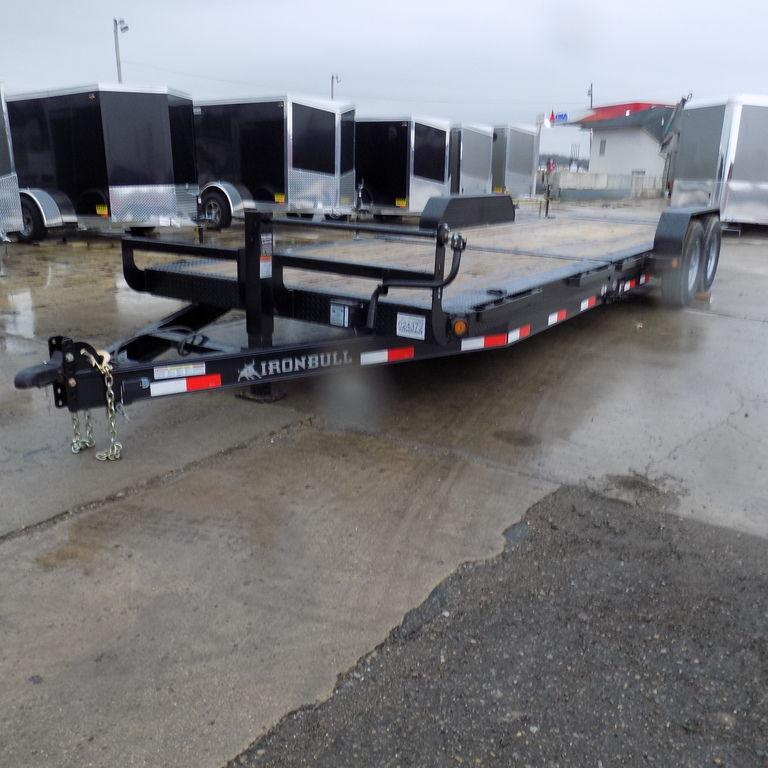 New Iron Bull TLB16 24' Tilt Deck Trailer with 8K Axle Upgrade