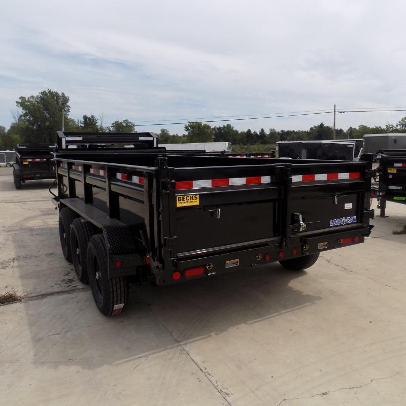"New Load Trail 83"" X 16' Triple Axle Gooseneck Dump Trailer"
