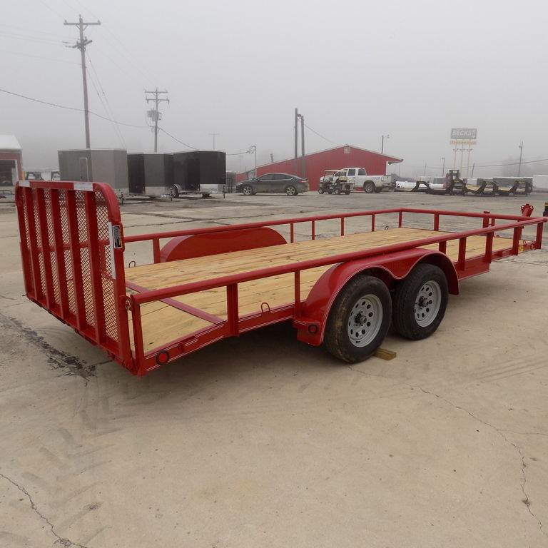 """New Load Trail UT 83"""" x 18' Open Utility Trailer for Sale"""