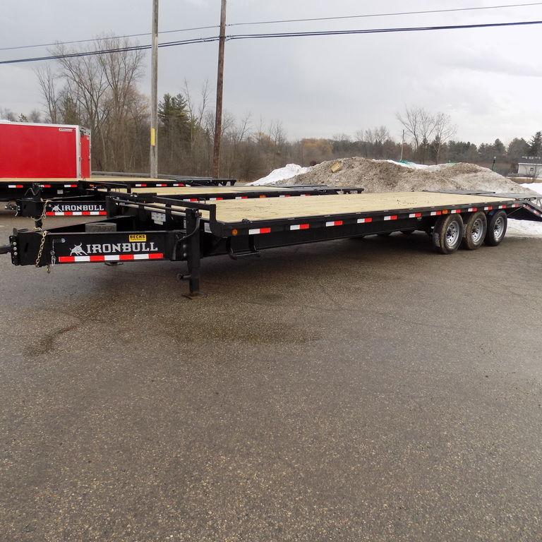 "New Iron Bull 102"" x 30' Deckover Trailer for Sale"