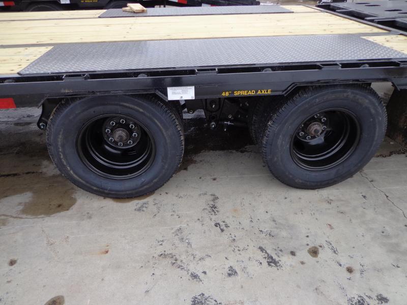 "Big Tex 102"" x 20' + 5' Gooseneck Flatbed Trailer With Mega Ramps"