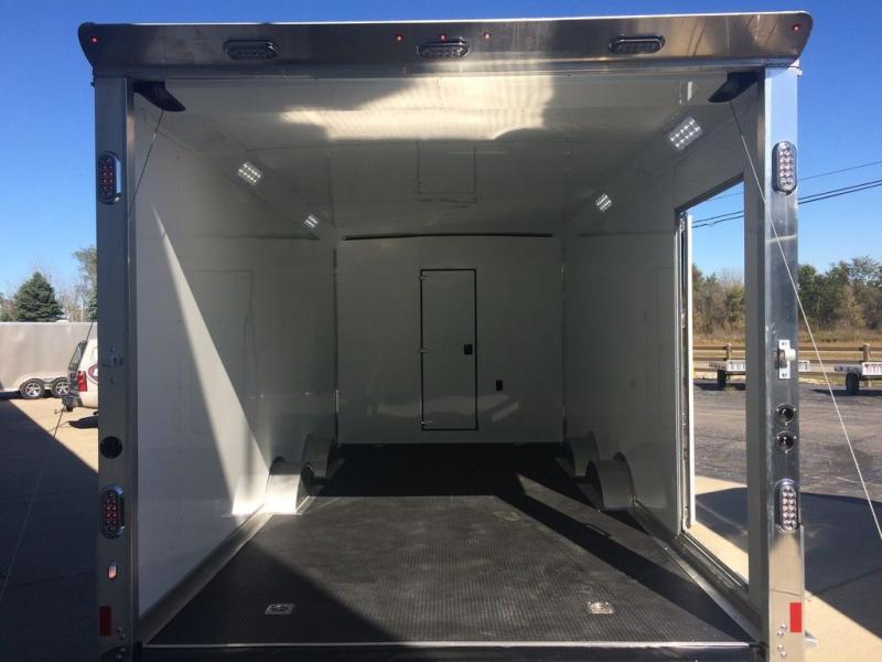 New Sundowner Trailers 39' Aluminum Toy Hauler - 18' Garage