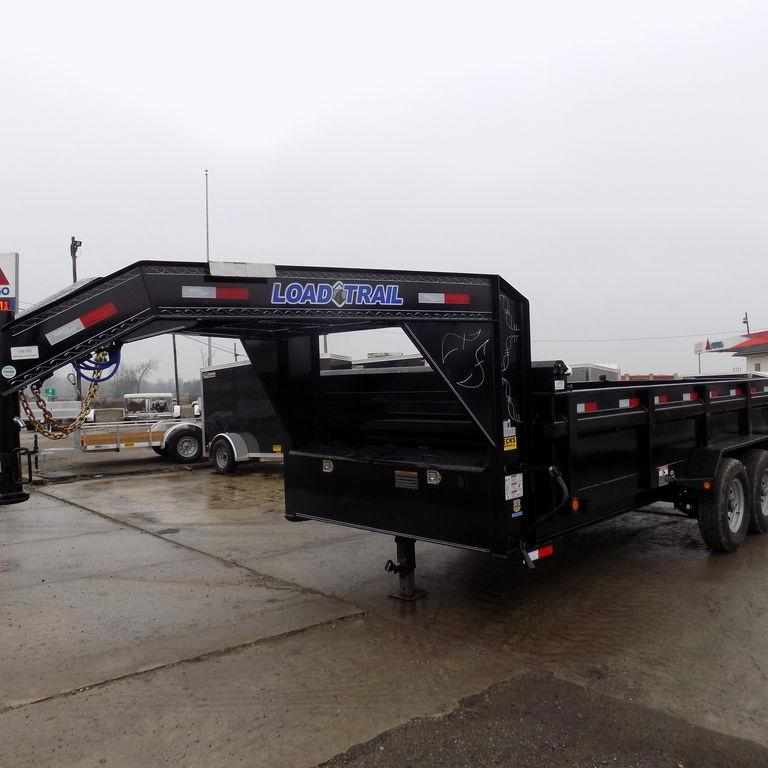 "New Load Trail GD14 83"" x 16' Gooseneck Dump Trailer for Sale"