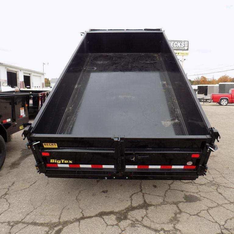 "New Big Tex 83"" x 14' Dump Trailer with Scissor Lift"