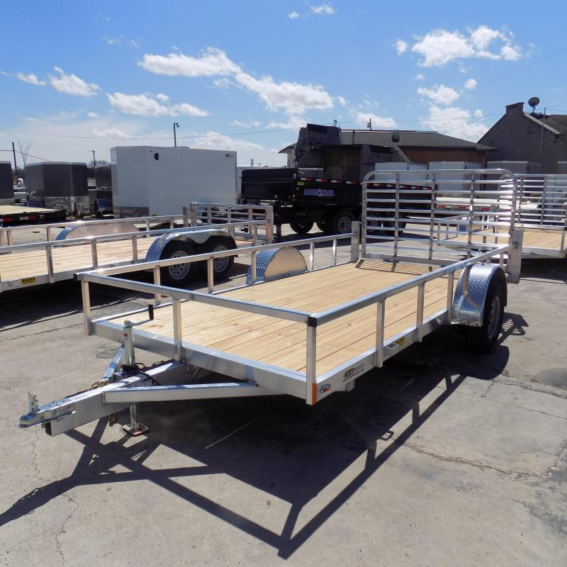 New Legend Open Deluxe 7' x 14' Aluminum Utility Trailer for Sale