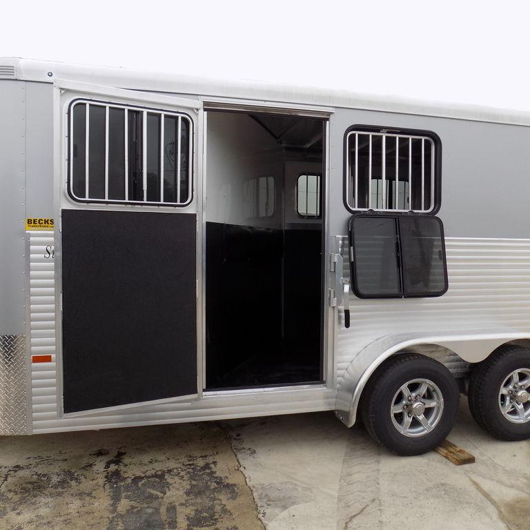 New Sundowner Trailers Super Sport Bumper Pull 2 Horse