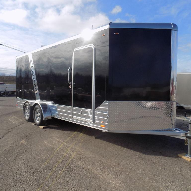 New Legend Deluxe 7' x 21' Aluminum Enclosed Cargo