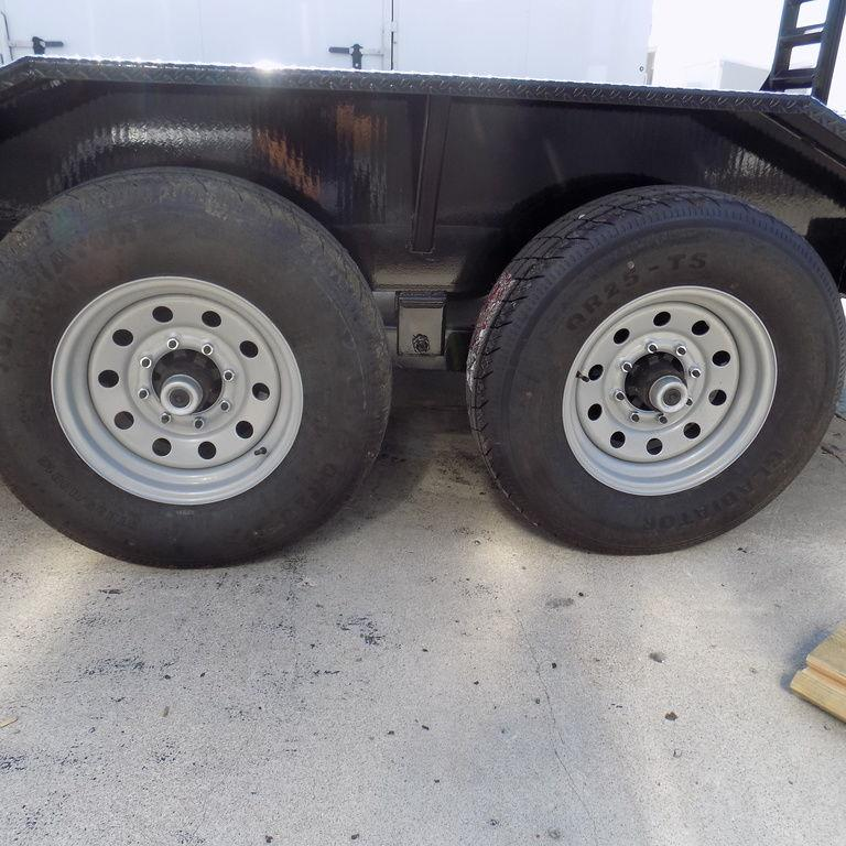 """New Load Trail102"""" x 16' Open Car/Equipment Hauler With 7k Axles"""