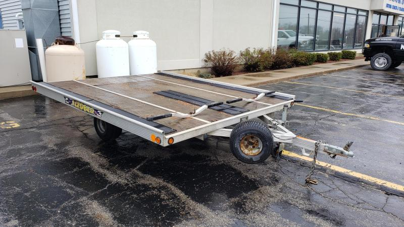 "Used 101"" x 10' Sled Bed 2-Place Snowmobile Trailer in Ashburn, VA"