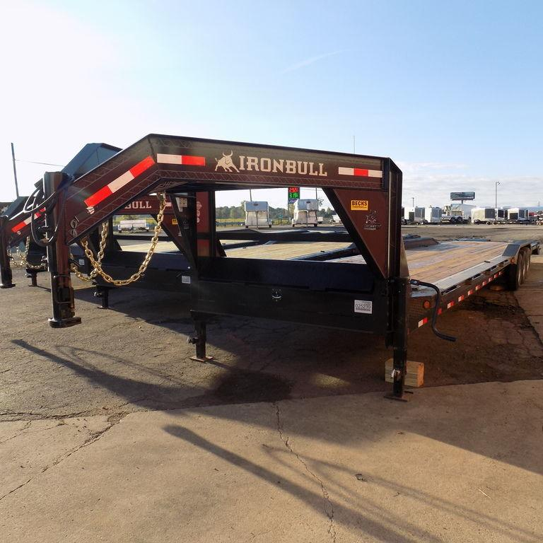 "New Iron Bull 102"" x 44' Open Gooseneck Trailer for Sale"