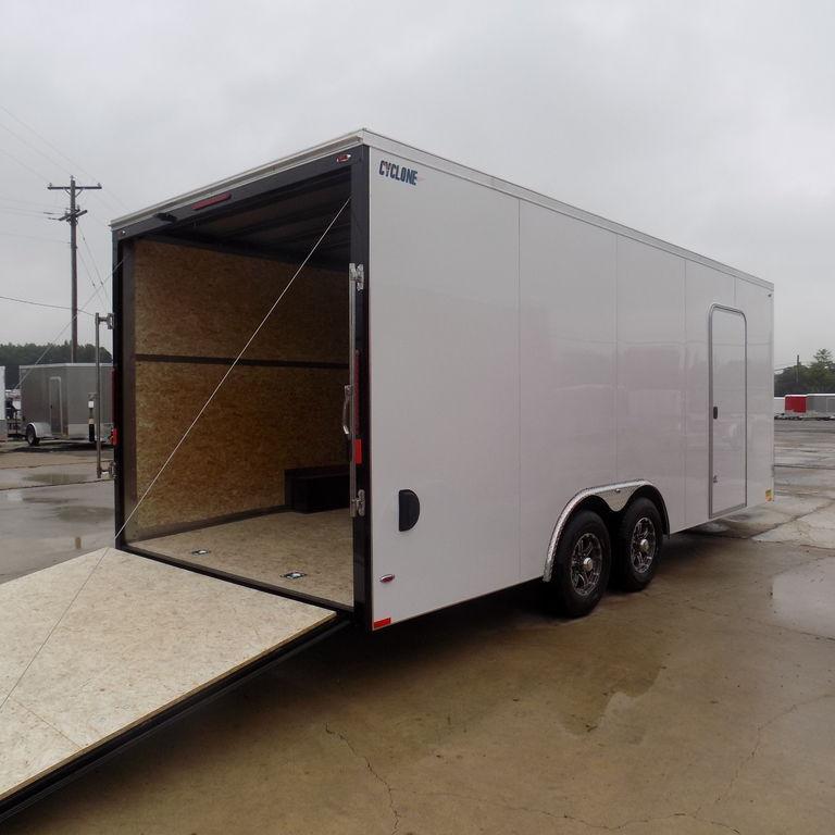 New Legend Cyclone 8.5' x22' Enclosed Car Hauler With Torsion Axles