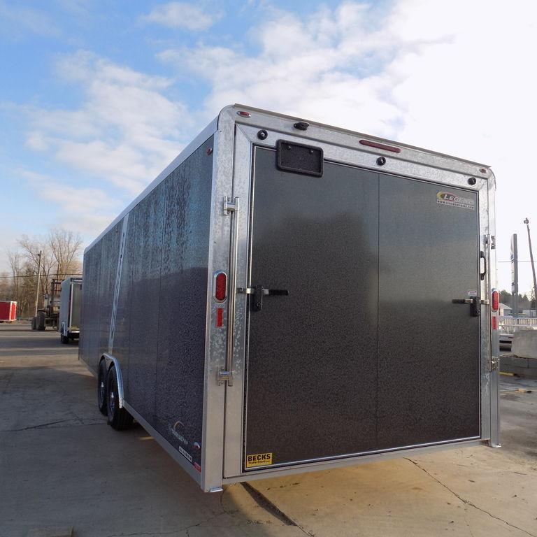 New Legend Trailmaster V-Nose 8.5' x 32' Aluminum Enclosed Car/All Sports Trailer