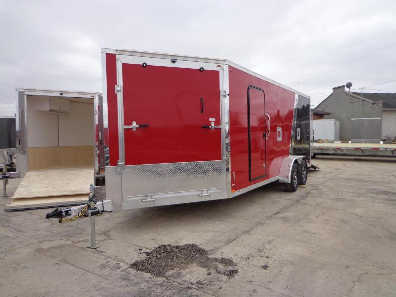 New Legend Trailers Explorer Snow/ATV 7' x 23' Enclosed Snowmobile Trailer For Sale