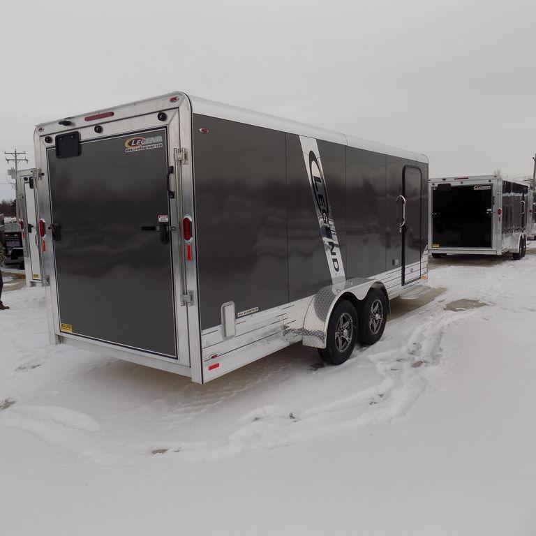 New Legend Trailers Deluxe V Nose Cargo 7X21DVNTA