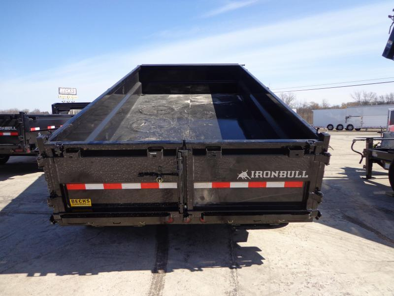 "New Iron Bull 83"" x 14' Dump Trailer for Sale"