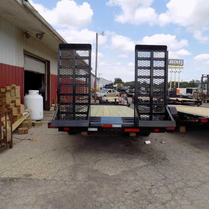 "New Diamond C Trailers 82"" x 22' Equipment Trailer W/ 10K Axles"