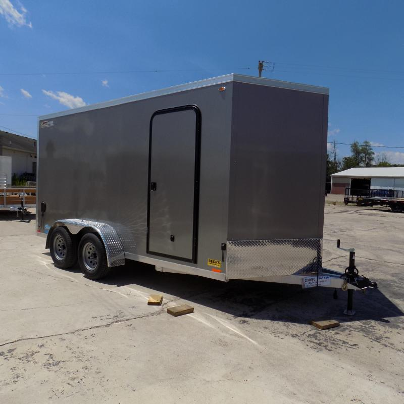 New Legend Thunder V Nose 7' X 16' Enclosed Cargo Trailer For Sale