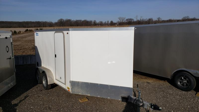 Used 2016 Legend Aluminum 7' x 17' Snowmobile Trailer