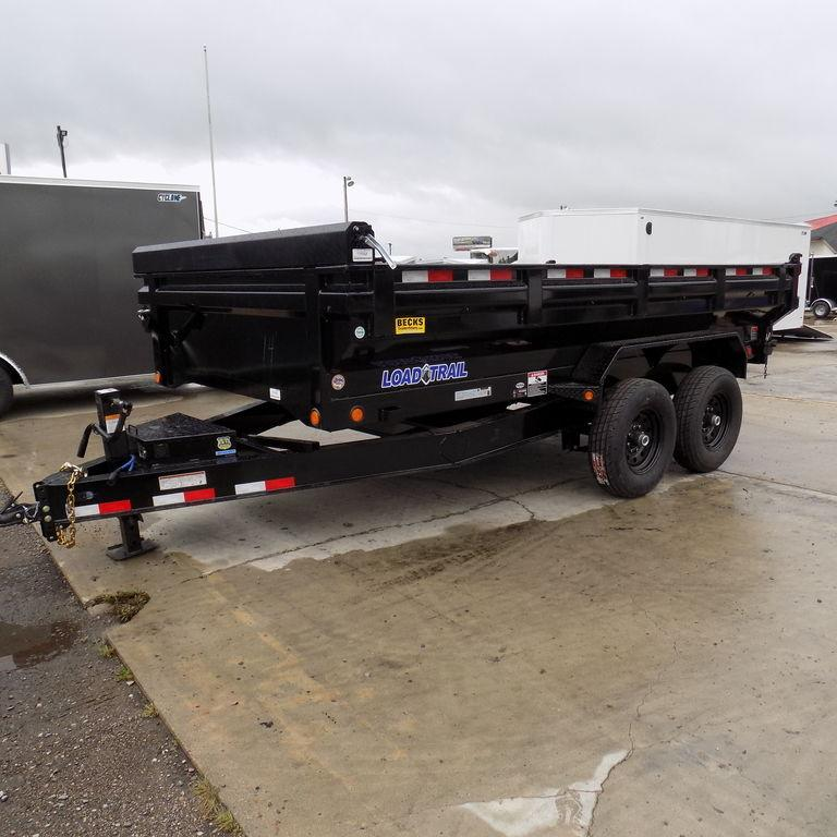 "New Load Trail 83"" x 14' Dump Trailer w/ King Sides"