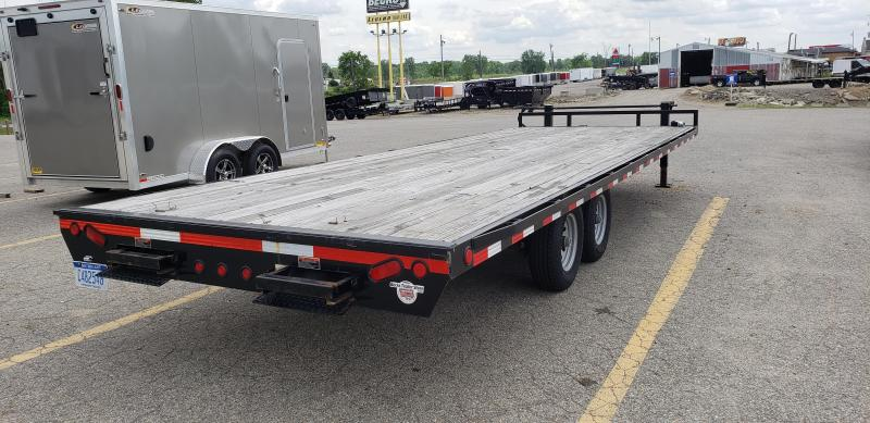"Used Load Trail 102"" x 24' Deckover Trailer For Sale - NEW TRADE"