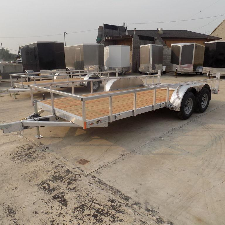 New Legend Trailers Open Deluxe 7X16ODTA35