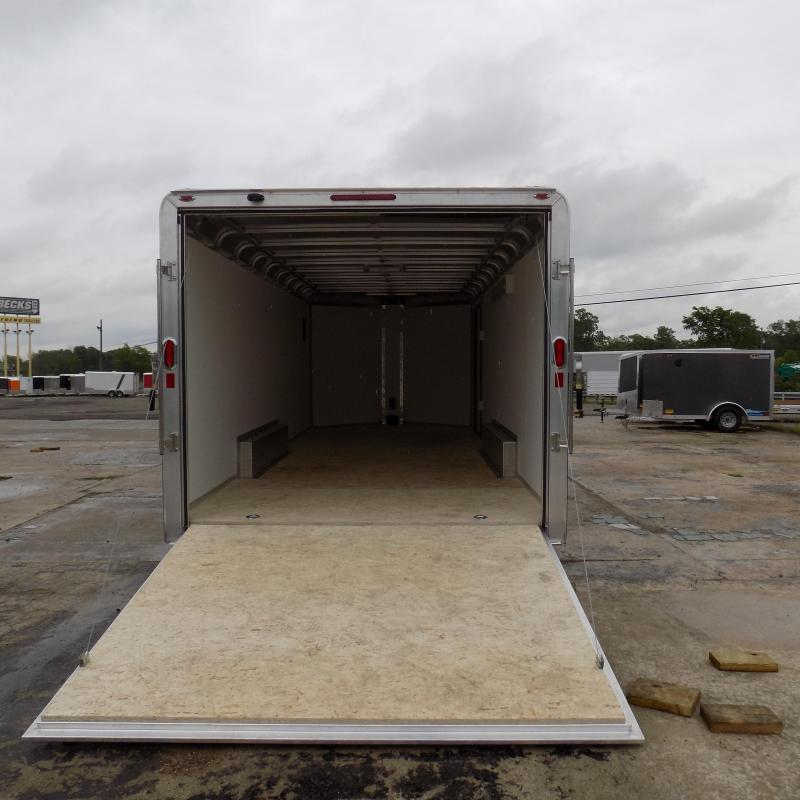 New Legend Deluxe V-Nose 8' x 23' Enclosed Cargo Trailer - Loaded With Features