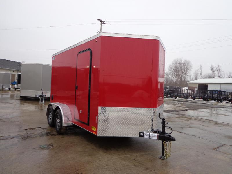 New Legend Cyclone 7' x 14' Tandem Axle Enclosed Cargo Trailer For Sale